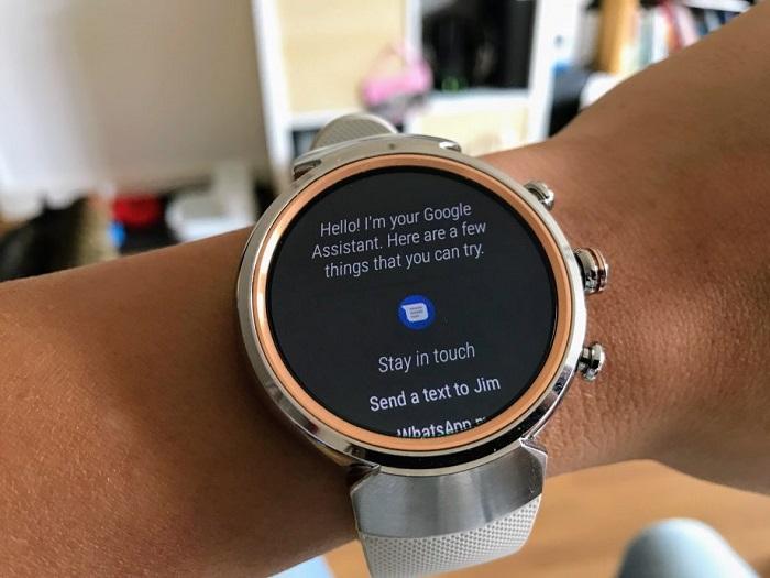 تعبیه دستیار ساعت هوشمند گوگل در ایسوس ZenWatch 3
