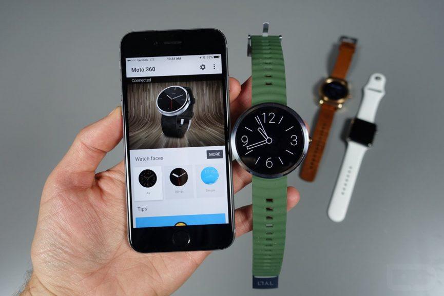 جفت کردن و همگامسازی گوشیهای آیفون با سیستمعامل Android Wear 2.0