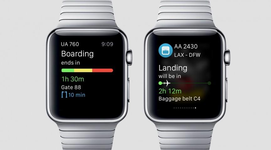 اپلیکیشن اطلاعات خطوط هوایی اپل واچ