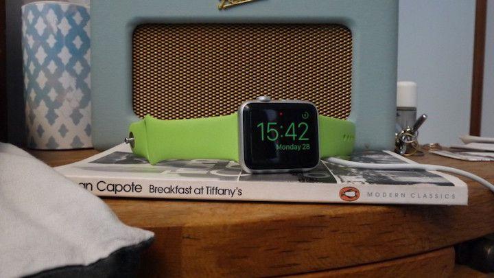 قابلیت تبدیل اپل واچ به یک ساعت رومیزی