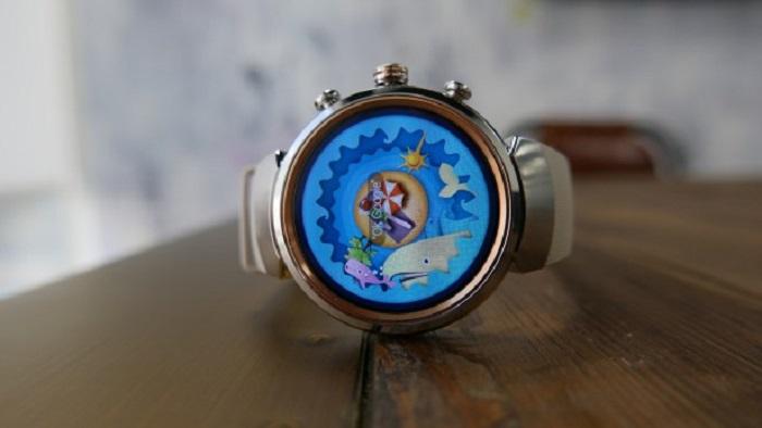 صفحه نمایش ساعت هوشمند ایسوس زن واچ 3