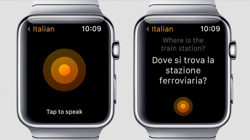 اپلیکیشن ترجمه اپل واچ 3