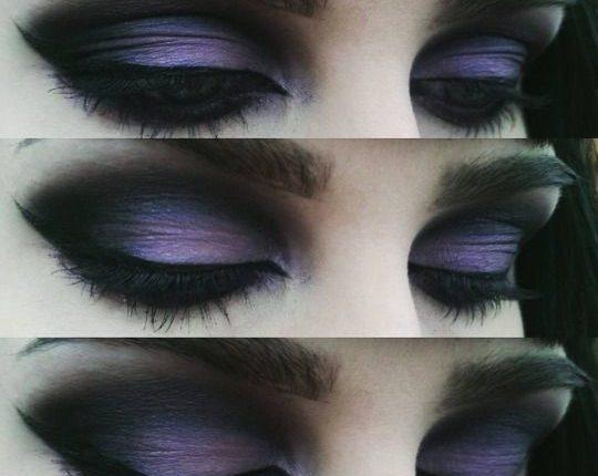 آرایش چشم در استایل گوتیک