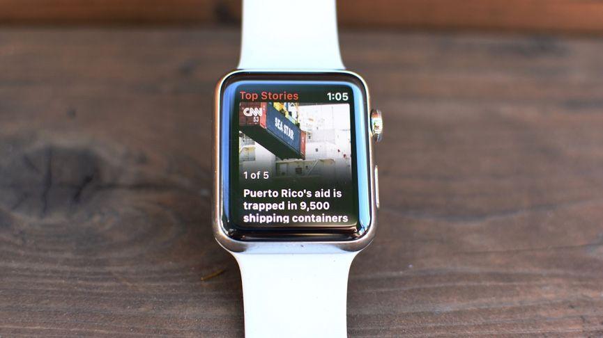 اپلیکیشن News در اپل واچ