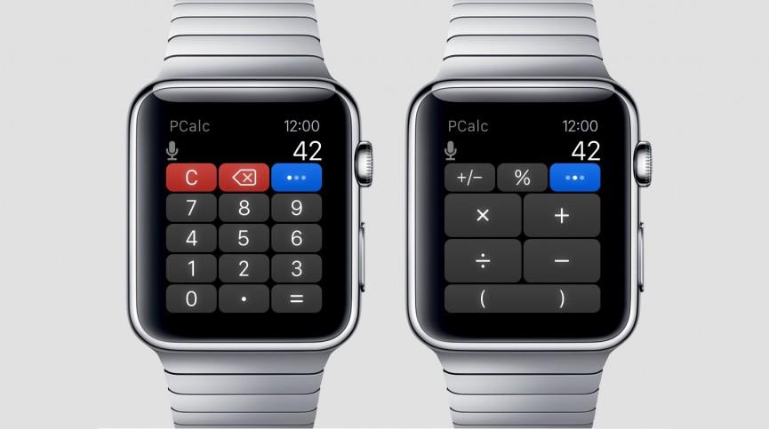 اپلیکیشن ماشین حساب ساعت هوشمند Apple Watch 3