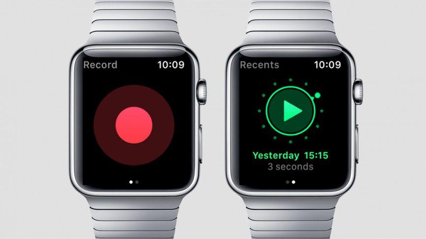 اپلیکیشن ضبط صدا اپل واچ