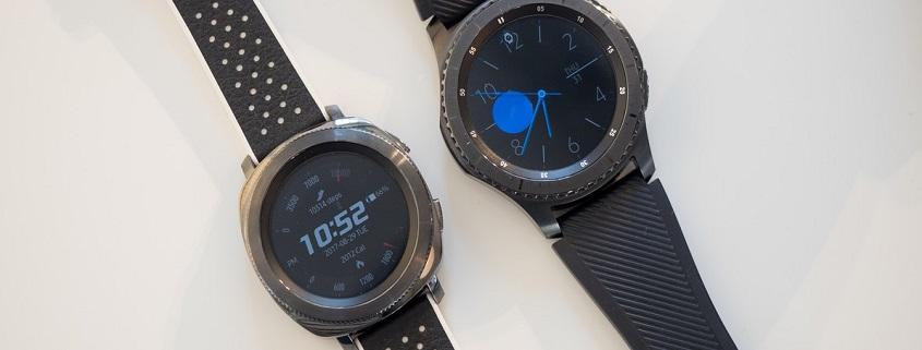 ساعت هوشمند سامسونگ Gear S3 و Gear Sport