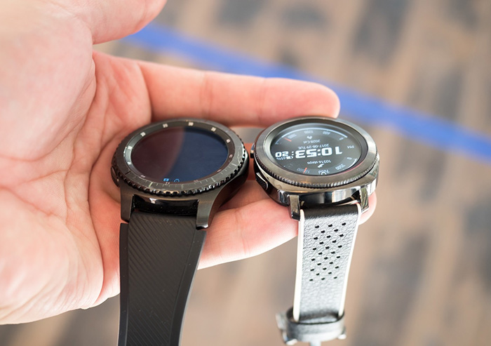 مقایسه ساعت هوشمند Gear S3 و ساعت هوشمند Gear Sport