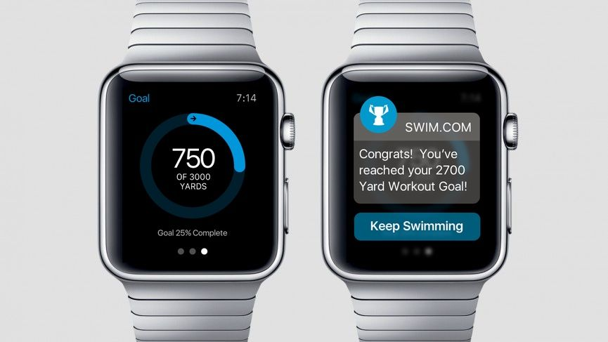 اپلیکیشن شنا برای اپل واچ