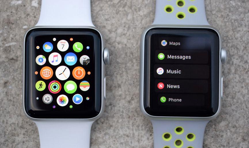 ظاهر اپل watchOS 4