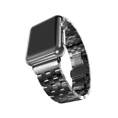 خرید بند فلزی اپل واچ 42 میلی متری مدل High-End Steel