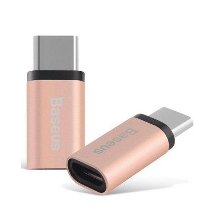 خرید آداپتور تبدیل بیسوس میکرو USB به USB Type-C