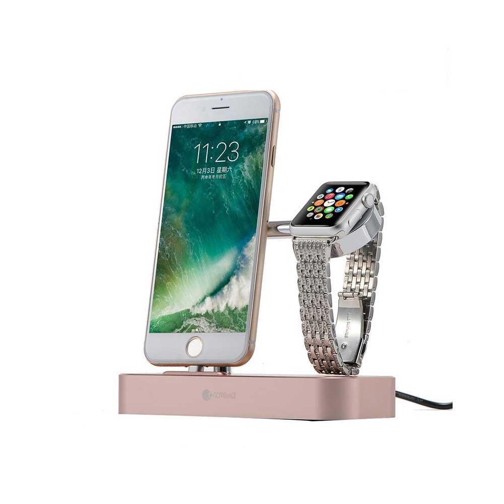 خرید پایه و استند شارژ اپل واچ و آیفون کوتتچی Base Hub