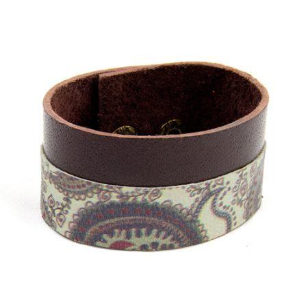 خرید دستبند چرم ژوست کد 434