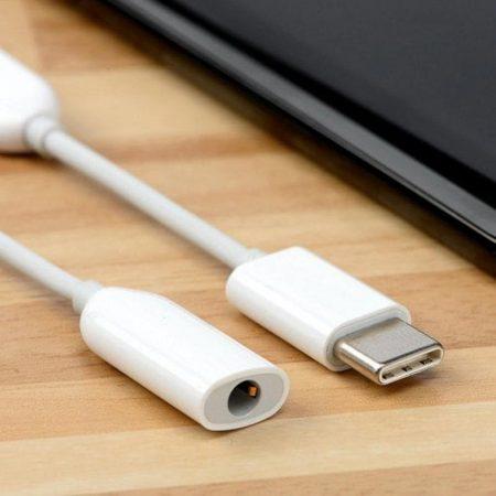 قیمت خرید کابل تبدیل صوتی AUX هدفون به پورت USB Type-C