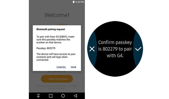 مراحل جفتسازی ساعت هوشمند سامسونگ Gear S3 با گوشی اندرویدی