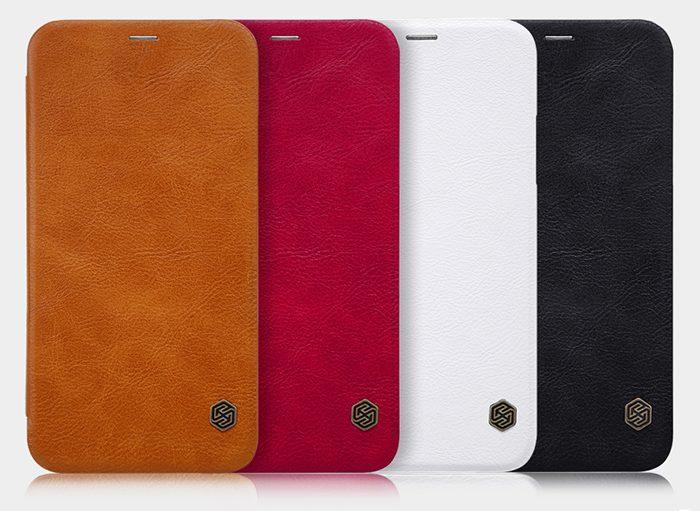 کیف چرمی گوشی موبایل آیفون X