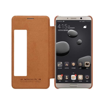 خرید کیف چرمی نیلکین گوشی موبایل هواوی Nillkin Qin Huawei Mate 10