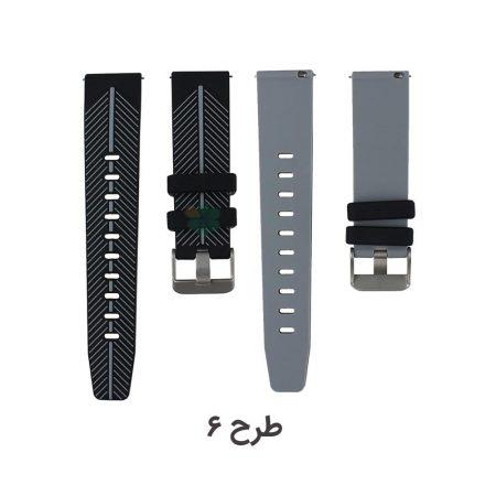 خرید بند سیلیکونی طرح دار ساعت هوشمند سامسونگ Gear S3