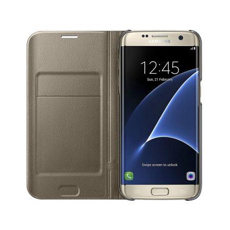 خرید کیف هوشمند موبایل سامسونگ Galaxy S7 Edge مدل LED View
