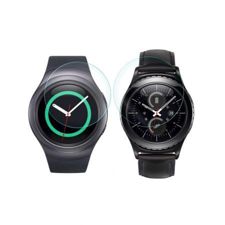 خرید محافظ صفحه گلس ساعت سامسونگ Samsung Gear S2