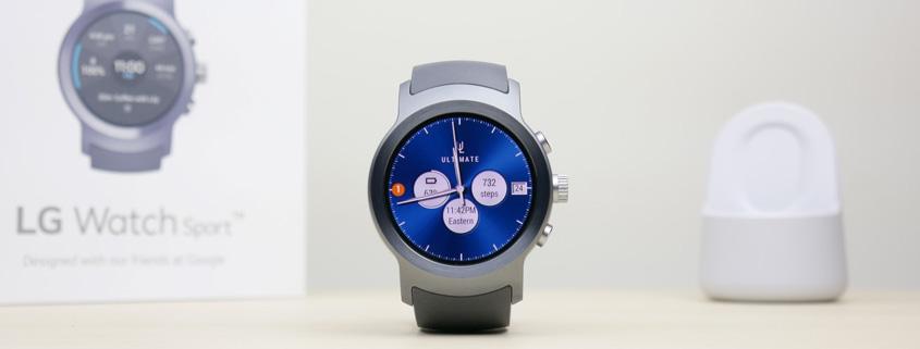 بند ساعت هوشمند ال جی واچ اسپرت