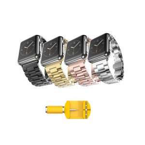قیمت خرید بند فلزی اپل واچ 38 میلی متری مدل 3Pointers