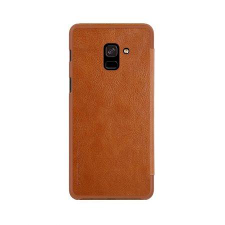 خرید کیف چرمی نیلکین گوشی سامسونگ Nillkin Qin Galaxy A8 2018