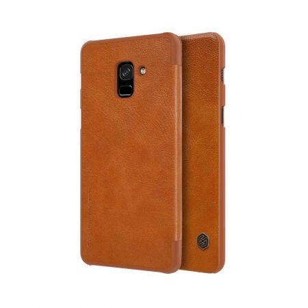 خرید کیف چرمی نیلکین گوشی سامسونگ Nillkin Qin Galaxy A8 Plus 2018