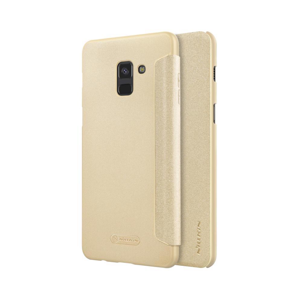 خرید کیف نیلکین گوشی موبایل سامسونگ Nillkin Sparkle Galaxy A8 2018