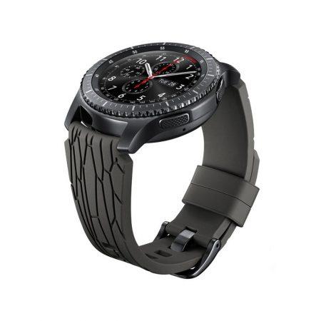 قیمت خرید بند سيليکونی اصلی ساعت سامسونگ Gear S3 Arik Levy Facet Brown