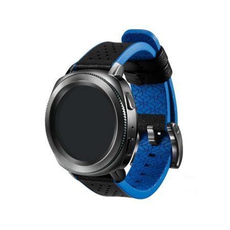 قیمت خرید بند اصلی ساعت سامسونگ گیر اسپرت Gear Sport Hybrid Blue