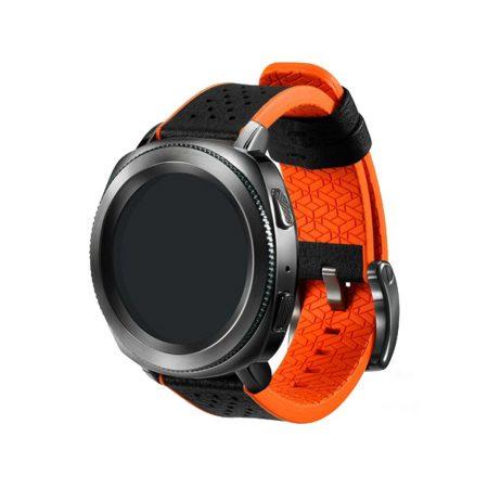 قیمت خرید بند اصلی ساعت سامسونگ گیر اسپرت Gear Sport Hybrid Orange