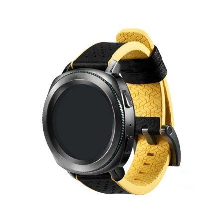 قیمت خرید بند اصلی ساعت سامسونگ گیر اسپرت Gear Sport Hybrid Yellow