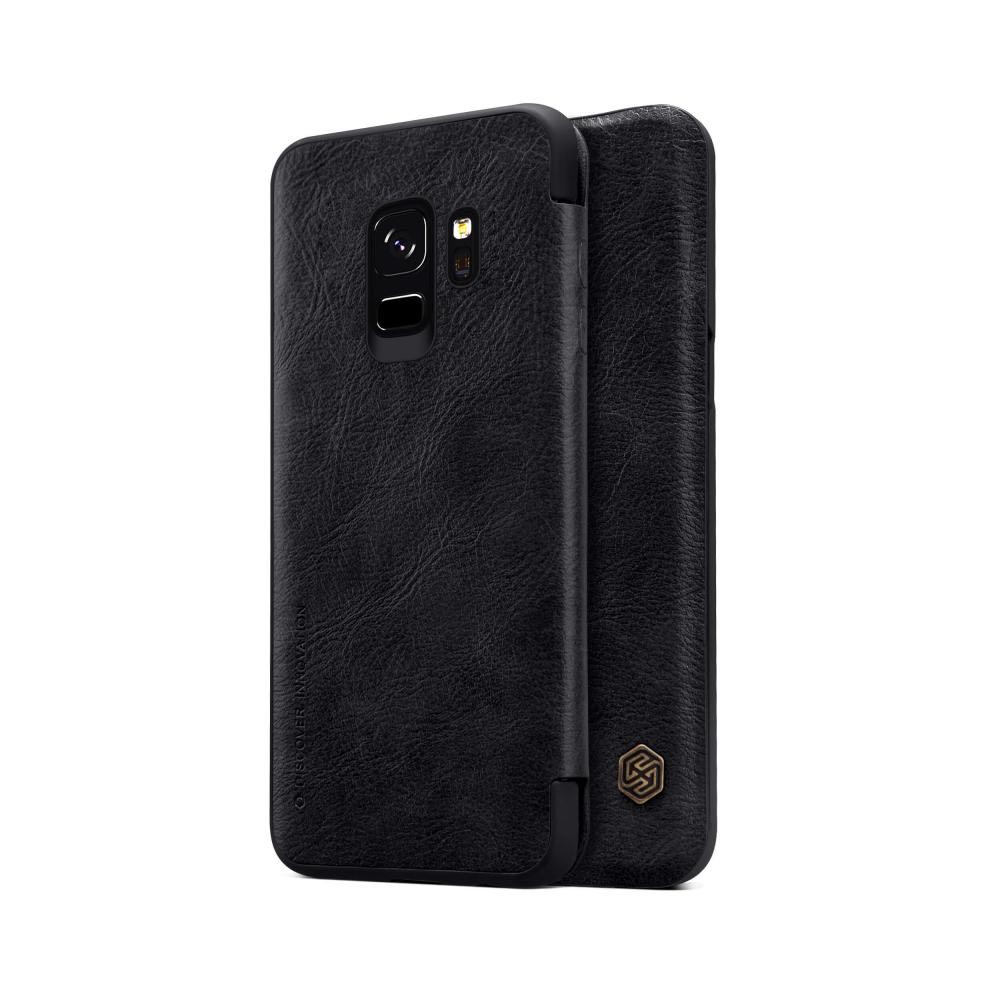قیمت خرید کیف چرمی نیلکین گوشی موبایل Nillkin Qin Samsung Galaxy S9