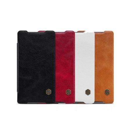 قیمت خرید کیف چرمی نیلکین گوشی Sony Xperia Z5 Compact