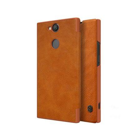 قیمت خرید کیف چرمی نیلکین گوشی سونی Nillkin Qin Sony XA2