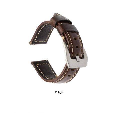خرید بند چرمی ساعت سامسونگ گیر اس 3 مدل Horse Genuine Leather