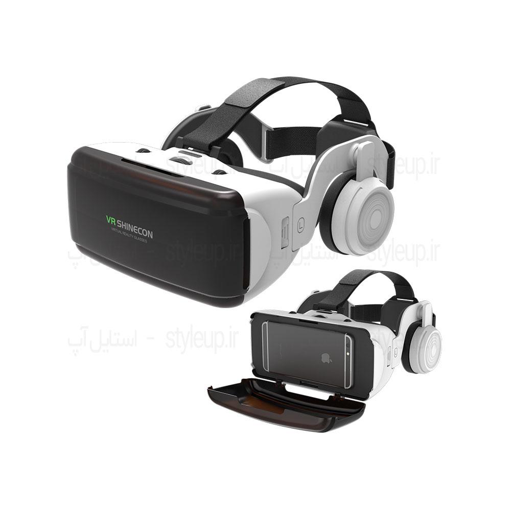 قیمت خرید هدست واقعیت مجازی شاینکن 5 - VR Shinecon 5 2018