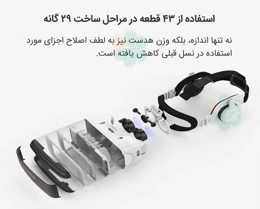 نقد و بررسی هدست واقعیت مجازی شاینکن 5 - VR Shinecon 5 2018 SC-G06E