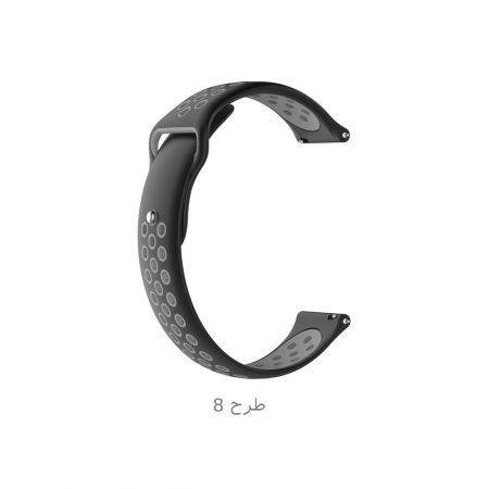 خرید بند ساعت سامسونگ Gear S3 مدل سیلیکون طرح نایک