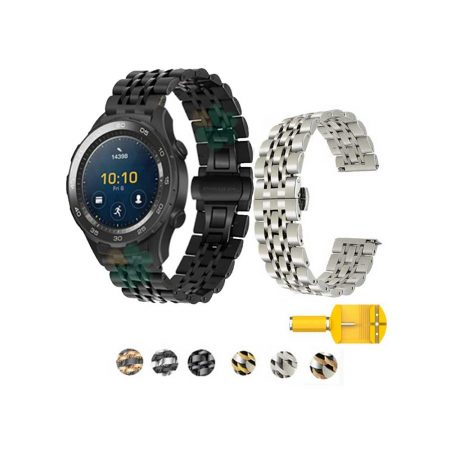 خرید بند ساعت هواوی واچ 2 - Huawei Watch 2 مدل فلزی رولکسی