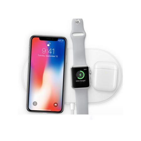قیمت خرید داک شارژر بی سیم آیفون و اپل واچ Mini AIRPower