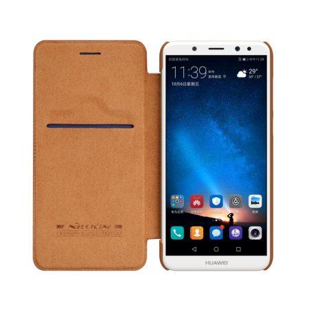 قیمت خرید کیف چرمی نیلکین گوشی هواوی Nillkin Qin Huawei Mate 10 Lite