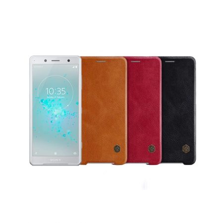 قیمت خرید کیف چرمی نیلکین گوشی سونی Nillkin Qin Sony XZ2 Compact