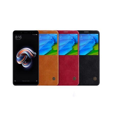 قیمت خرید کیف چرمی نیلکین گوشی Nillkin Qin Xiaomi Redmi Note 5 Pro
