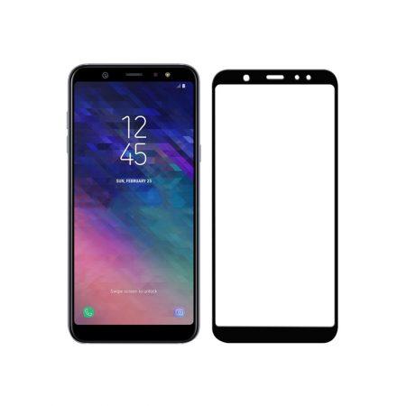 قیمت خرید گلس محافظ تمام صفحه گوشی Samsung A6 Plus 2018
