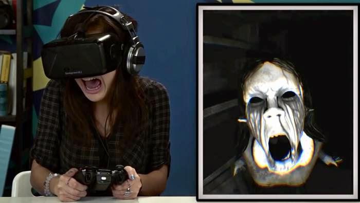 بازی ترسناک در عینک واقعیت مجازی