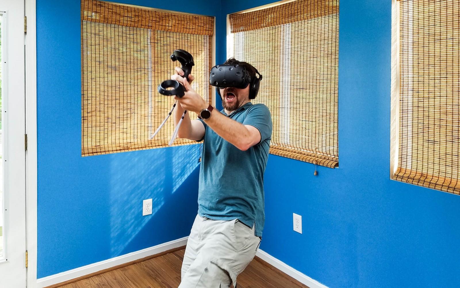 توهم محیط در عینک واقعیت مجازی