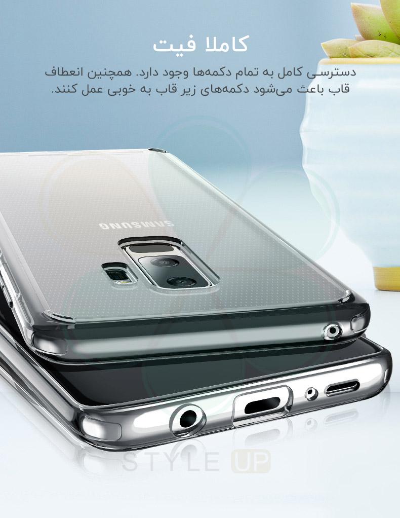 نقد و بررسی قاب ژله ای راک گوشی سامسونگ Samsung Galaxy S9 سری Rock Pure